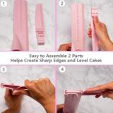 Adjustable Height Cake Scraper