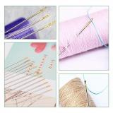 Self-threading Needles