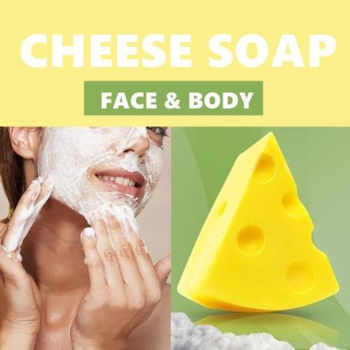 Cheese Pore Unclogging Soap