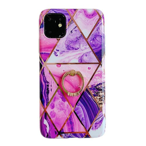 Ring Grip Marble Phone Case