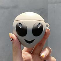 Glow In Dark Alien Silicone AirPods Case Cover