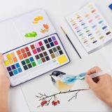Metallic Watercolor set -12/36/48 Color