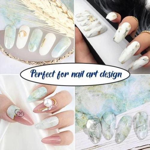 BUY 1 GET 1 FREE 💅 MARBLE SERIES NAIL FOILS