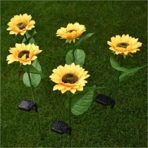 THE BEST GIFT FOR YOUR LOVE-SOLAR SUNFLOWER LIGHT