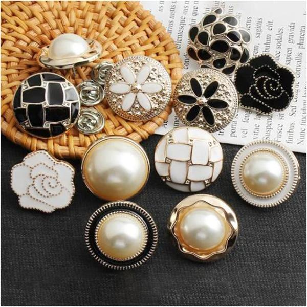 4 Pcs Sewing Free Coat Buttons