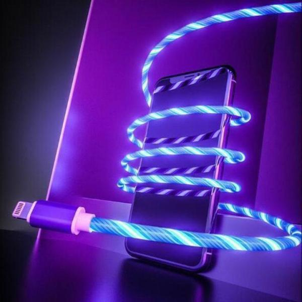 Flowing Luminous Phone Charging Cable