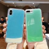Luminous Dynamic Quicksand Cover Case For iPhone