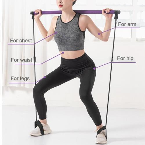 Yoga Pilates Stick Exercise Resistance Band