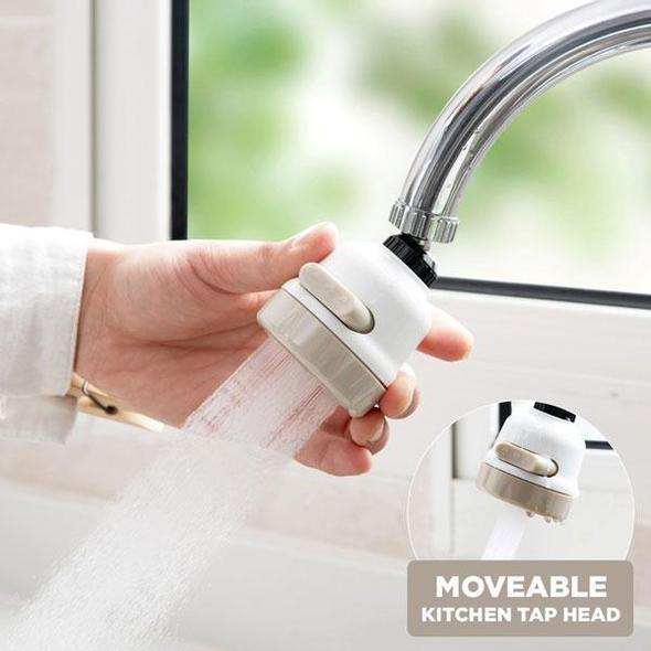 50%OFF-Moveable Kitchen Tap Head