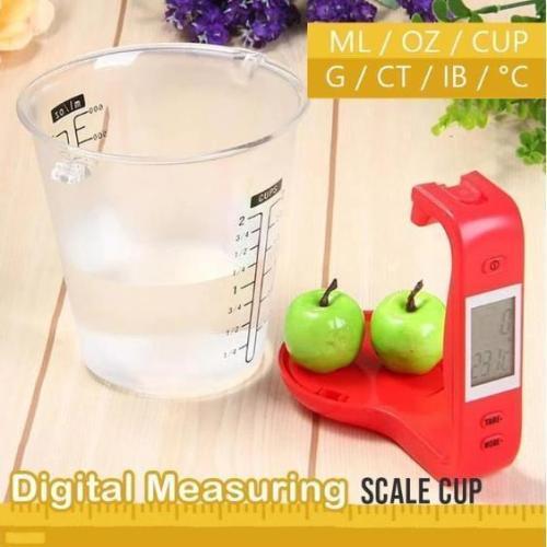 Digital Measuring Scale Cup