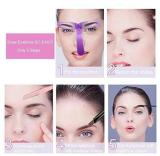 8 Shapes of Eyebrow Stencils