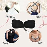 Lace Up Breast Lift Silicone Adhesive Bra