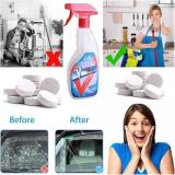 Multifunctional Effervescent Spray Cleaner