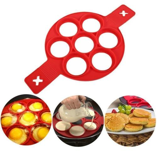 Creative Silicone Omelette Mould Pancake Baking Tool