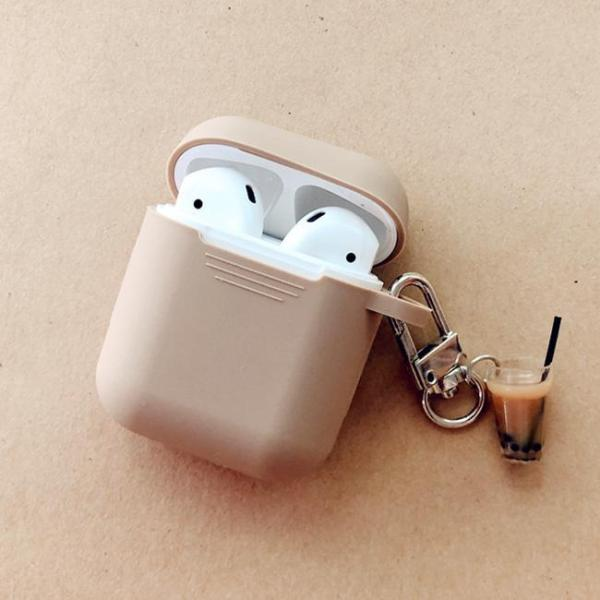 3D Bubble Tea Decor AirPods Case Cover