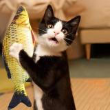 3D Fish Toy For Cat