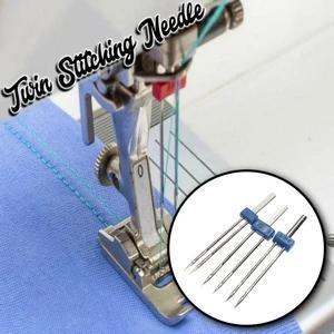 Twin Stitching Needle (3 Pcs)