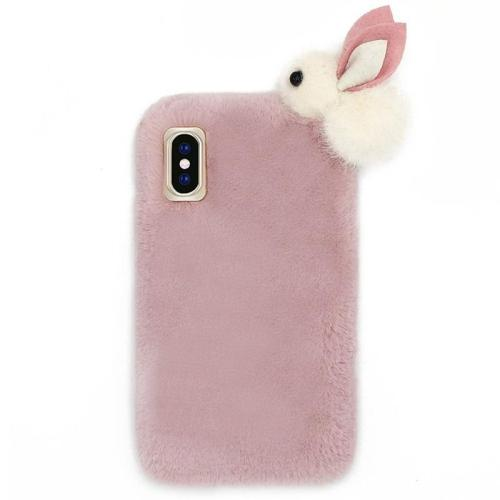 Rabbit Plush Phone Case