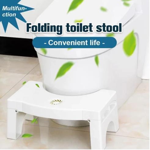 New Folding Multi-Function Toilet Stool