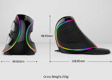 Ergonomics Vertical Gaming Wired Mouse