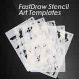 Fast Draw Stencil Art Templates