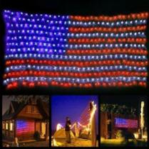 Large Usa Flag Outdoor Lights