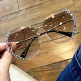 Fashion Crystal Sunglasses