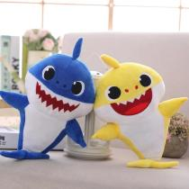 Music And Lighting Baby Shark Singing Cartoon Plush Toys