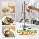 Creative Long Handle Soup Spoon Set