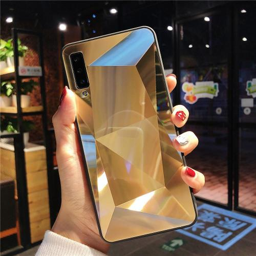 Diamond Texture Mirror Case For Samsung