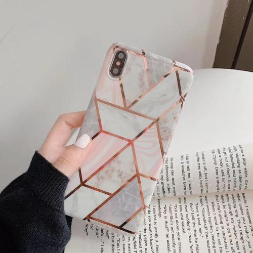 Fashion Geometric Marble Phone Case