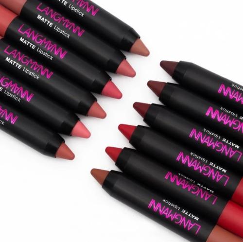 Long-Lasting Waterproof Matte Lipstick (12 Pcs/set)