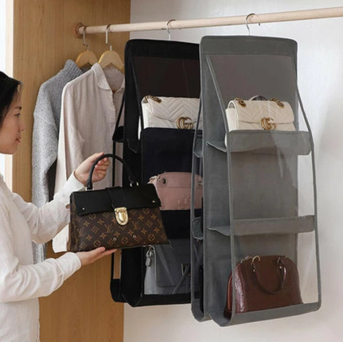 Handbag 3 Layers Folding Shelf  Storage Holder