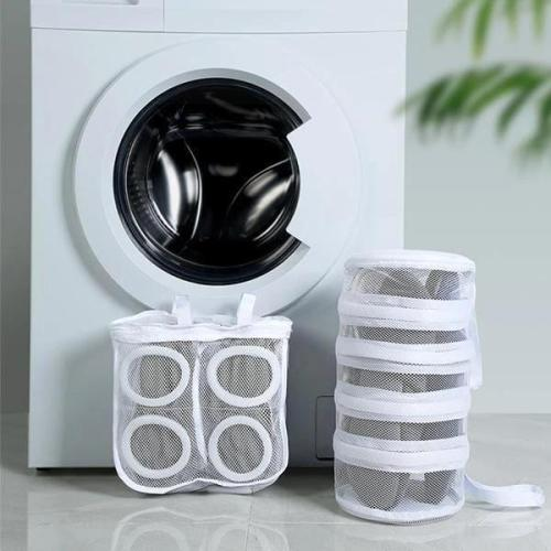 3Pcs Shoes Washing Bags