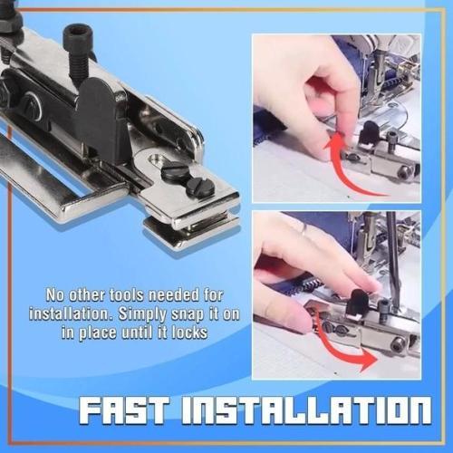 Line Positioning Zipper Foot