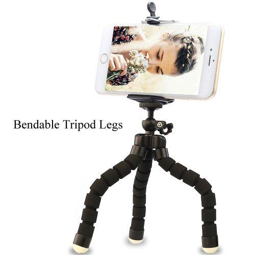 Phone Tripod With Wireless Remote Shot