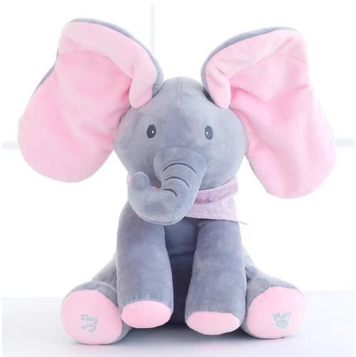 Peek A Boo Plush Elephant Doll