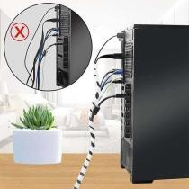 Flexible Wire Data Cable Tidy Organizer