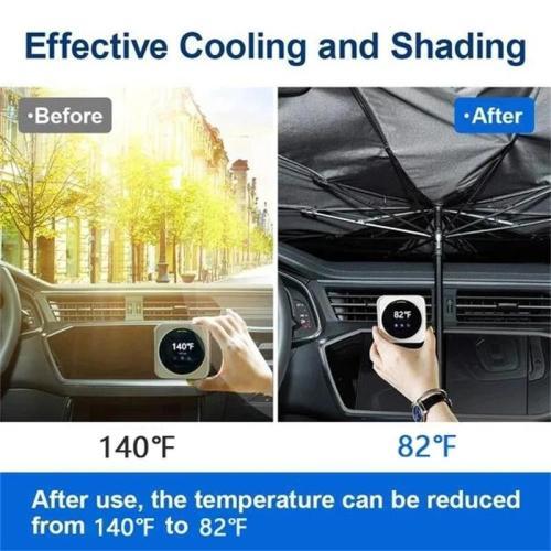 Hot Sale🔥Foldable Car Sun Umbrella-Block Heat UV