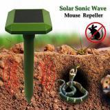 Solar Power Ultrasonic Sonic Mouse Mole Snakes Pest Rodent Repeller