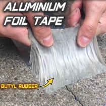 Aluminum Foil Butyl Waterproof Tape (1mm Thick)