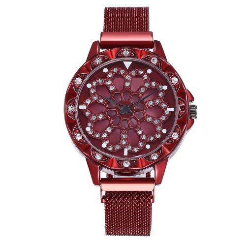 Luxury Rotating Women Watch