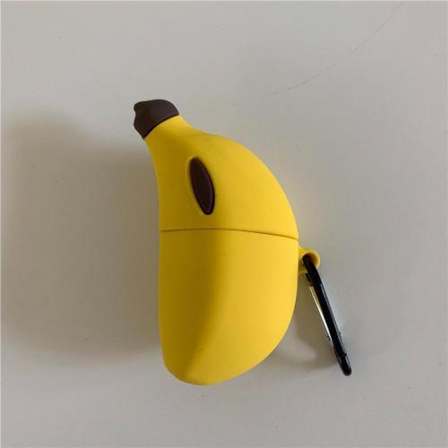 3D Banana Silicone AirPods Case Cover