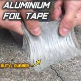 Aluminum Foil Butyl Waterproof Tape (1mm Thick)