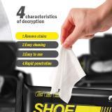 Quick White Shoe Wipes