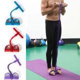 4-Tube Pedal Fitness Rope for Women & Men
