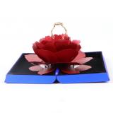 Red Rose Ring Box