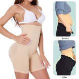 High-Waisted Shaper Shorts Panty