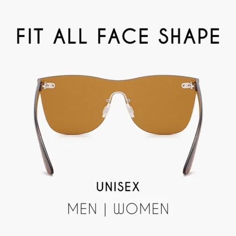 Infinity Fashion Farbige Sonnenbrille Vintage Mirror Polarized Sunglasses Glasse