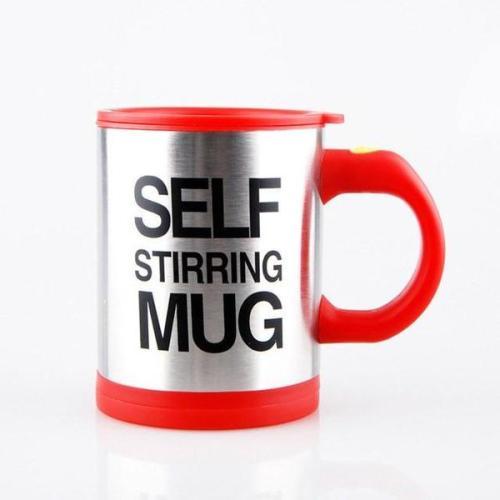 The Self-Stirring Coffee Mug